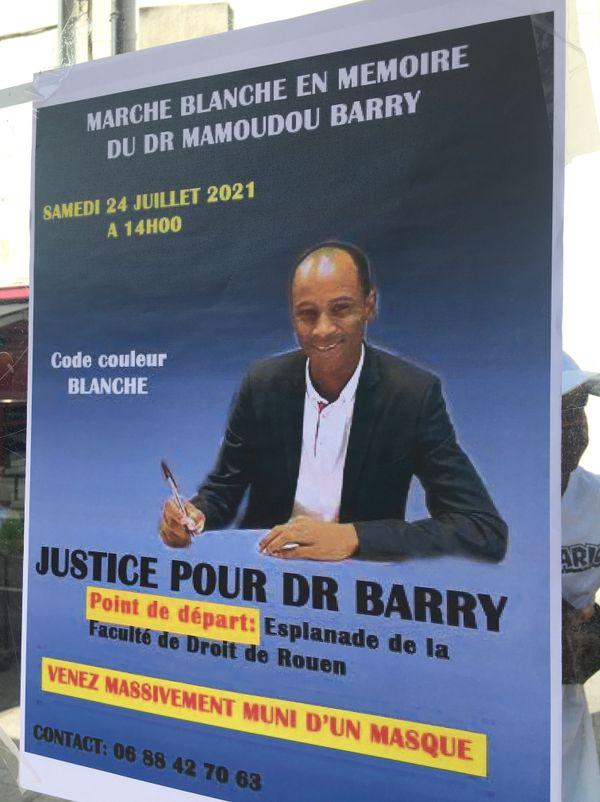 Le 24 juillet 2021, une marche est organisée en souvenir de Mamoudou Barry tué à Canteleu près de Rouen le 19 juillet 2019.