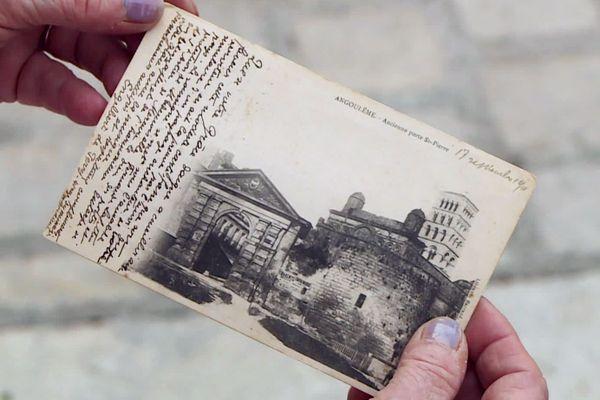 """Des dizaines de cartes postales """"amoureuses"""" d'Engelbert à sa grand-tante, Monique Nicole tirera un livre évoquant la belle époque des amours épistolaires"""
