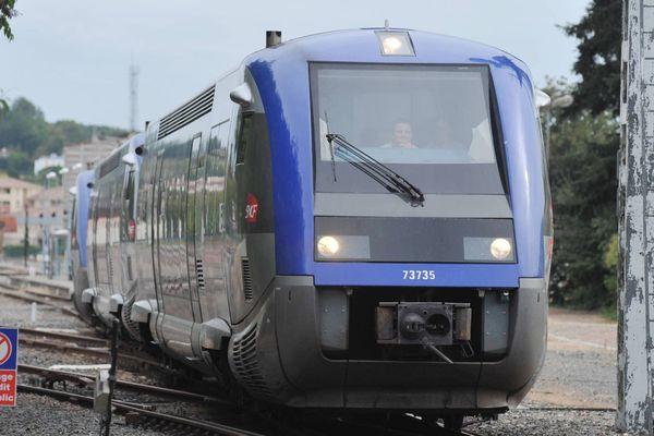 Le TER Toulouse-Auch