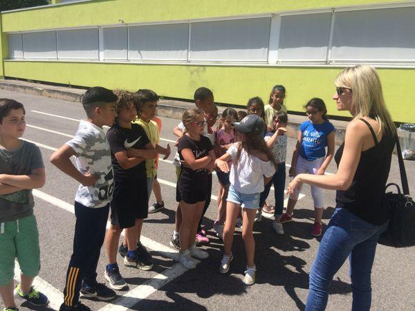 Blandine Besso et ses élèves préparent cette comédie musicale depuis bientôt un an.