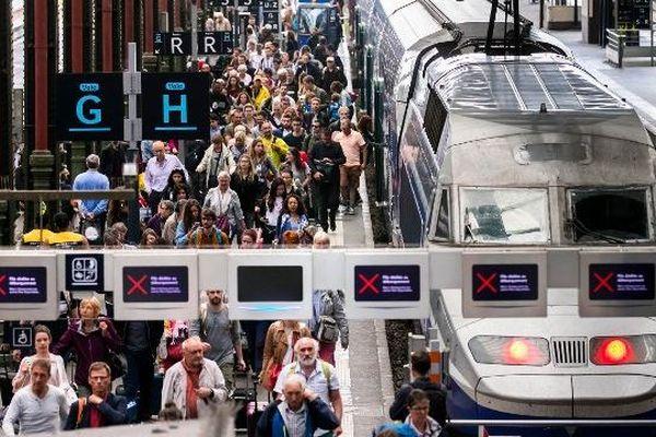 La ligne Paris-Milan est à l'arrêt depuis le 2 juillet, après une coulée de boue en Savoie. Photo d'illustration.