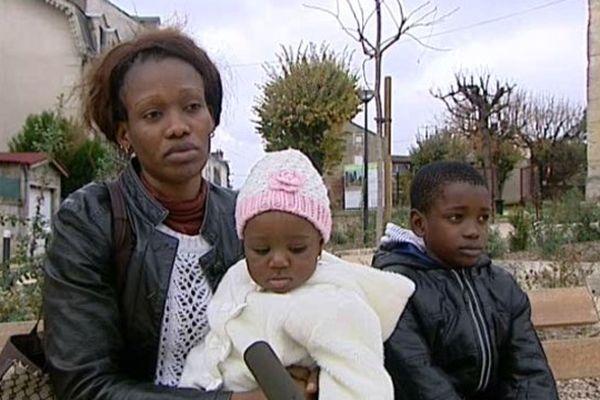 Nancy et ses trois enfants menacés d'expulsion vers l'Angola