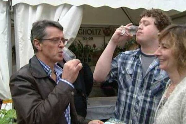 Les viticulteurs ont fait découvrir leur millésime 2013