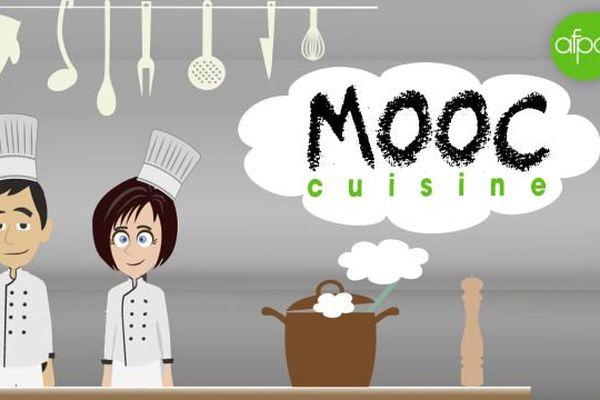 """L'Afpa va lancer son premier cours en ligne gratuit (Mooc) consacré aux """"101 techniques de base de la cuisine française""""."""