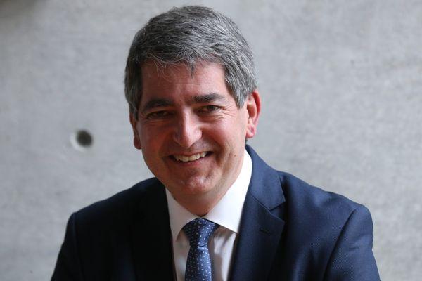 Jean Rottner, président sortant (LR) de la région Grand Est.