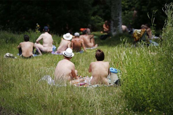 L'espace naturiste du bois de Vincennes, 7 000 m2 à l'état naturel.
