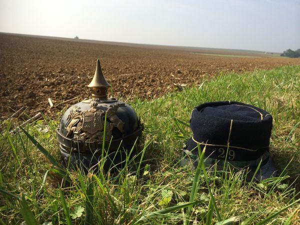 Champ de bataille de la Vaux-Marie où Genevoix et ses hommes ont combattu aux côtés du 29e BCP  face aux fantassins würtembourgeois.