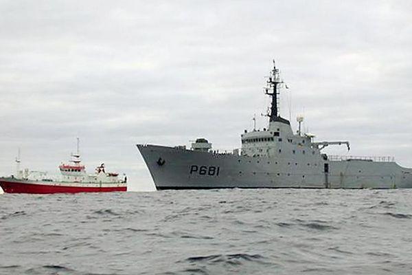La Marine nationale pourrait intervenir en cas de nouvel affrontement entre pêcheurs anglais et français