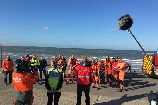 Une équipe de Thalassa est en tournage à Berck-sur-Mer et ses environs depuis jeudi 6 mai, pour raconter le quotidien des sauveteurs du littoral.