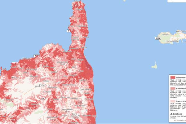Téléphonie mobile : l'autorité des télécoms publie la vraie carte de la couverture des réseaux