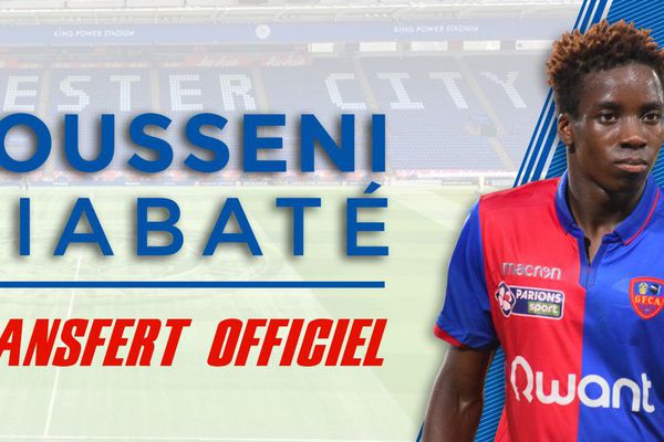 L'attaquant malien du Gazélec Ajaccio (2e division française) Fousseni Diabaté (22 ans) s'est engagé avec Leicester jusqu'en 2022