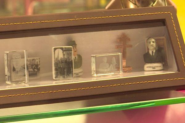 La collection de fèves De Gaulle