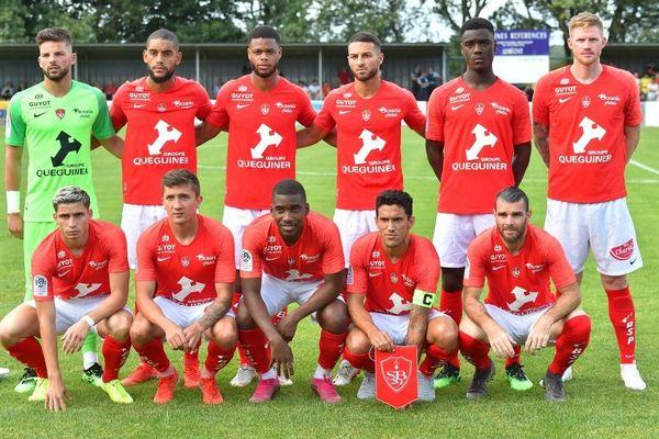 L'équipe pose avant le match amical face à Nantes, le 26 juillet 2019.