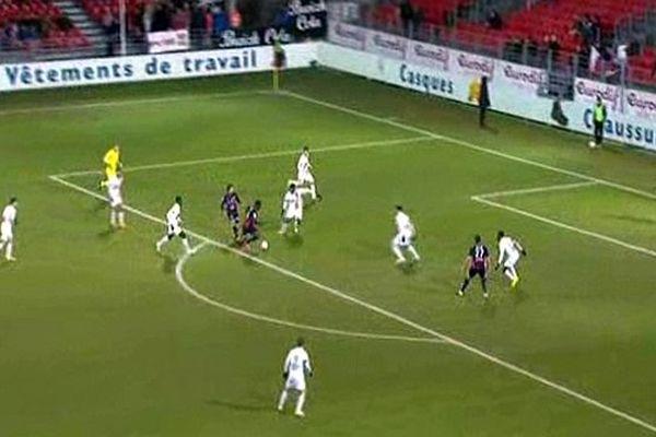 Brest (Finistère) - les Crocos nîmois battus 3 à 1- 16 février 2015.