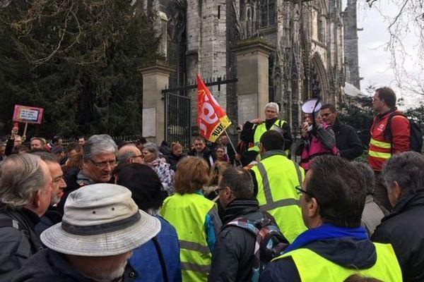 La CGT76 a maintenu son appel au rassemblement malgré l'arrêté préfectoral