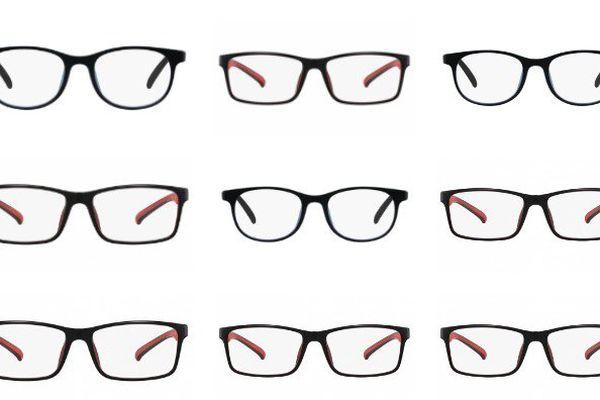 Collage de différentes lunettes de Eye Blue