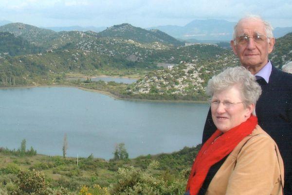 Le couple Mergez, propriétaire de la villa, décédé l'an dernier