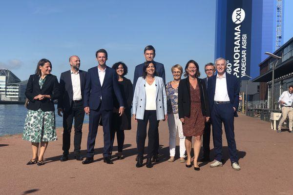 Anne Hidalgo a annoncé officiellement sa candidature à l'élection présidentielle d'avril 2022, ce dimanche 12 septembre 2021 à Rouen.