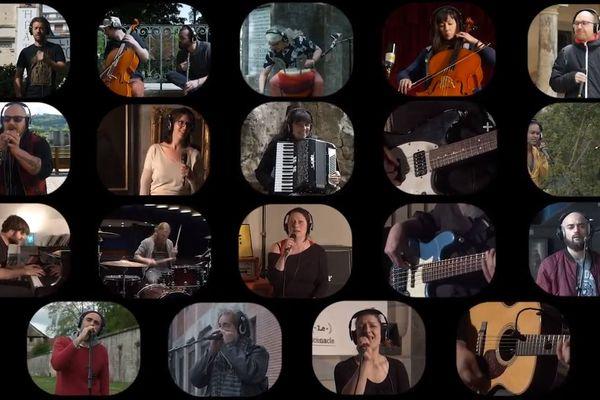 De nombreux artistes, musiciens, chanteurs, techniciens ont participé à ce projet à Besançon.