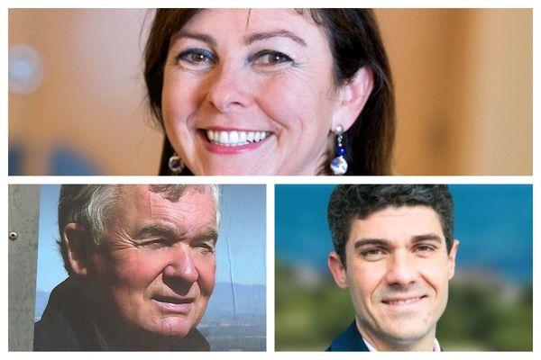 Carole Delga (PS), largement en tête de ce premier tour en Occitanie, Jean-Paul Garraud (RN) et Aurélien Pradié (LR) devraient se qualifier pour le scrutin du 27 juin.