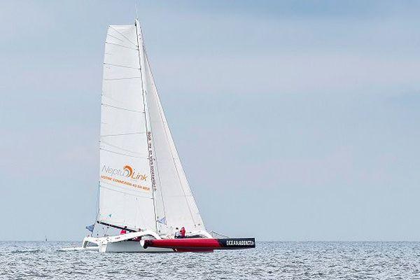 Le bateau d'Eric Defert équipé en 4G permettra de suivre la course du record SNSM 2015
