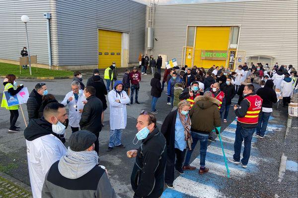Grève chez Latelec, filiale de Latécoère, 3 décembre 2020