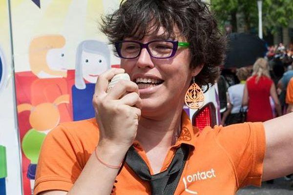Isabelle Corbineau sera aux Gay Games en tant que sportive et militante à l'association Contact