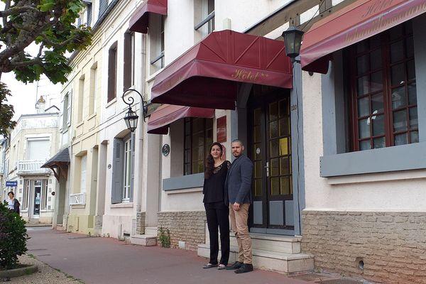 Rachid et Maha Oumakhlouf ont racheté l'hôtel Chantilly, à Deauville, l'an dernier