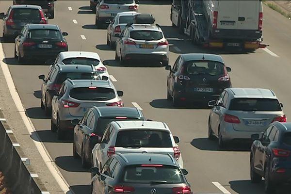 Retours de vacances : de la circulation attendue sur les routes de France... (photo d'archives)