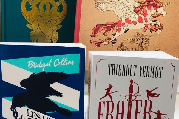 couvertures de 4 livres d'aventures
