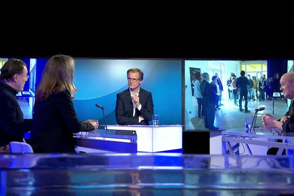 Le plateau de Vox Breizh sur France 3 Bretagne