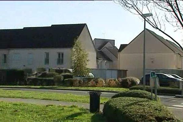 Le quartier de la Madeleine à Chartres où aurait résidé Omar Ismaïl Mostefaï durant plusieurs années.