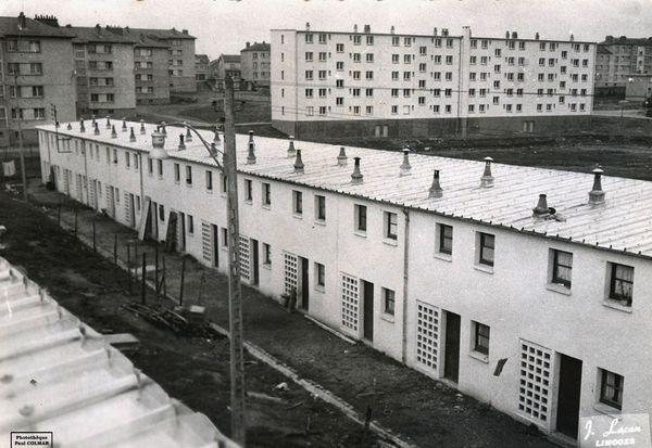 La cité d'urgence du Vigenal dans les années 1950