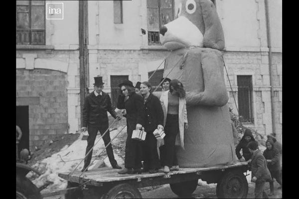 Morteau : les conscrits en 1968