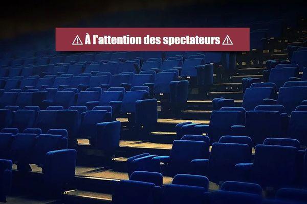 Comme tous les théâtres et cafés-théâtres privés de le région Occitanie, l'Odéon Montpellier informe dès sa page d'accueil les spectateurs des modalités de remboursements des billets ou des soutiens possibles à la structure.