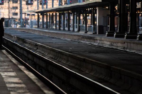 Pas ou peu de trains ce jeudi 5 décembre, annonce officielle de la SNCF. Illustration