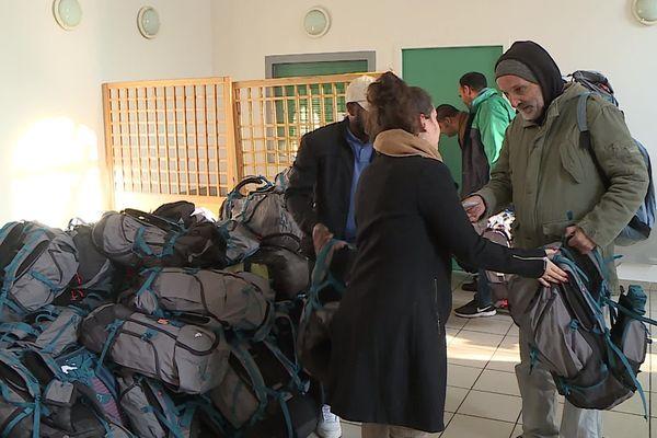 Dans l'Hérault, l'association Sakado a distribué près de 800 kits aux SDF entre fin décembre 2019 et mi-janvier 2020