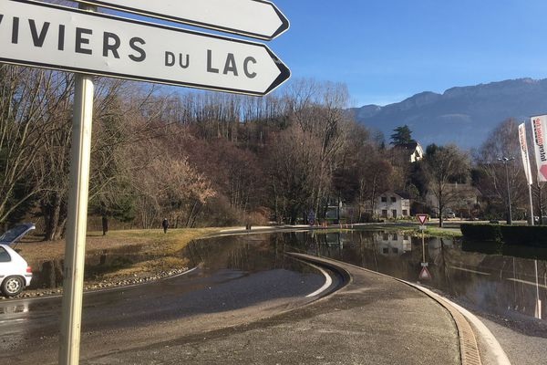 Bord du lac du Bourget