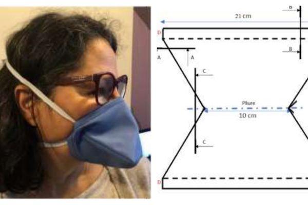 Plusieurs types de masques barrières existent.