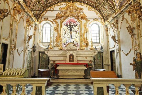 L'oratoire Sainte Croix à Bastia (Haute-Corse)