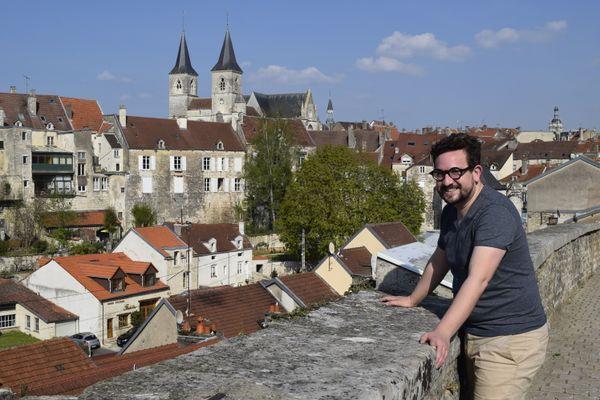 A Chaumont, Rémi a trouvé le juste équilibre entre ville et nature.