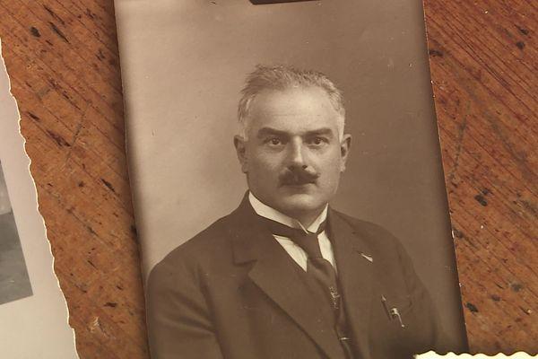 André, l'arrière grand-père de Thierry Floret.