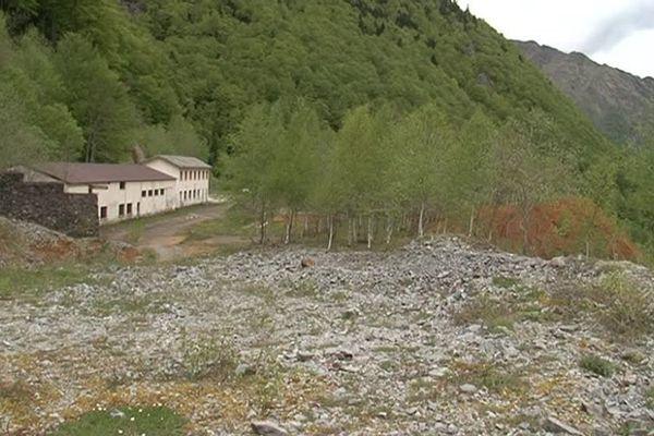 La mine de Salau (Ariège) à 1.230 m d'altitude.