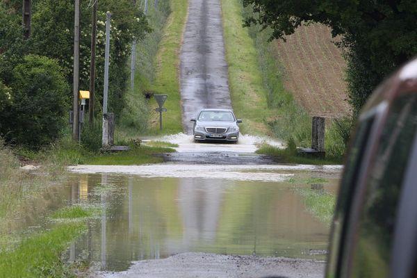 Photo d'archives. Inondations dans le Gers