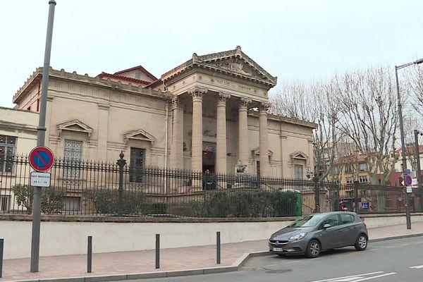 La cour d'assises des Pyrénées-Orientales, à Perpignan.