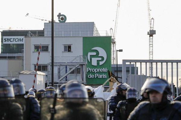 Le 15 janvier dernier, le site d'Ivry-sur-Seine avait ait l'objet d'un blocage, dans le cadre de la grève contre la réforme des retraites.