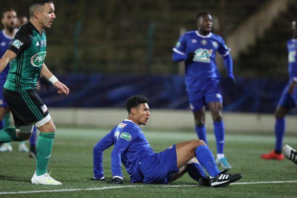 Malgré l'ouverture de score de Florian David (photo), Chambly s'est incliné face au Red Star à cause d'une défense trop étourdie.