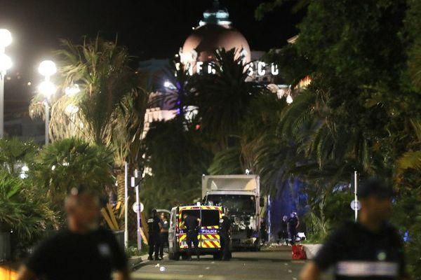 La nuit de l'attentat le 14 juillet 2016 à Nice