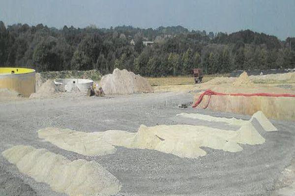 Les travaux de construction de l'usine de méthanisation de Trémorel ont été suspendus par la justice