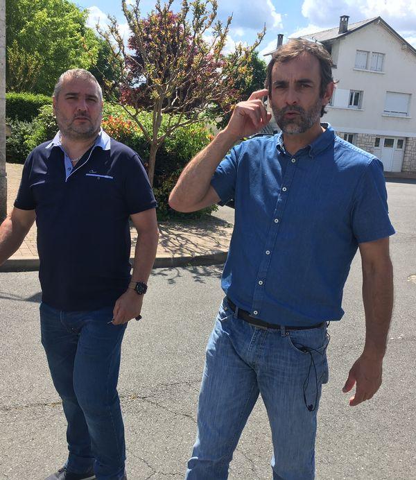 Stéphane Roudier maire de Condat-sur-Vézère en Dordogne où a été interpellé le suspect au terme de 36 heures de traque